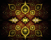 Abstract fractal beeld Royalty-vrije Stock Foto's