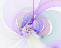 Abstract fractal beeld Stock Foto