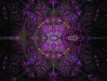 Abstract fractal beeld Stock Afbeelding