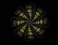 Abstract fractal beeld vector illustratie