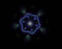 Abstract fractal beeld Royalty-vrije Stock Fotografie