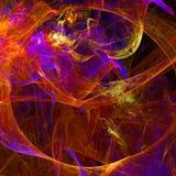 Abstract fractal behang met verschillend en vele vormen Stock Fotografie
