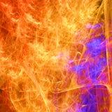 Abstract fractal behang met verschillend en vele vormen Royalty-vrije Stock Fotografie