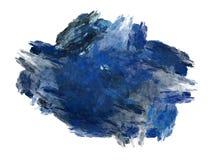 Abstract fractal blauw chaotisch patroon Royalty-vrije Stock Fotografie