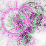 Abstract fractal butterfly Royalty Free Stock Image