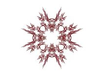 Abstract fractal with a decorative pattern Stock Image