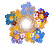 Abstract fractal design Royalty Free Stock Photo