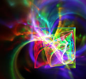 Abstract fractal design. Royalty Free Stock Photos