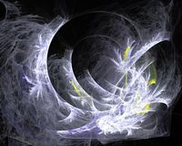 Abstract fractal design. Royalty Free Stock Images