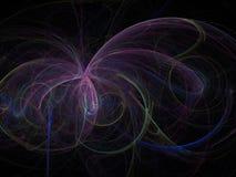 Abstract fractal digital background, beautiful. Abstract fractal digital background beautiful vector illustration