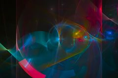 Abstract fractal modern curve chaos fantastic science flame design glowing. Abstract   fractal fantasy  creative glowing         chaos  futuristic   surreal vector illustration