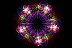 Abstract fractal fantasy pattern and shapes. Abstract fractal fantasy multicolopattern and shapes.Fractal artwork for creative design,flyer cover, interior stock illustration