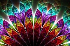 Abstract fractal fantasy pattern and shapes. Abstract fractal fantasy multicolored pattern and shapes.Fractal artwork for creative design,flyer cover, interior vector illustration