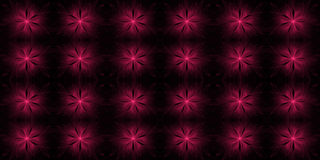 Abstract fractal flower background Royalty Free Stock Images
