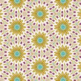 Abstract fractal flower pattern. Abstract fractal flower pattern, computer-generated illustration stock illustration