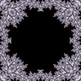 Abstract fractal frame Royalty Free Stock Photos