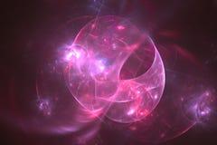Abstract fractal geïllustreerd achtergrond teruggegeven behang Royalty-vrije Stock Afbeeldingen