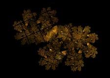 Abstract Fractal Gebladerte Royalty-vrije Stock Afbeelding