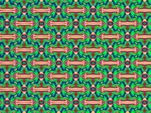Abstract fractal geometric pattern. Abstract fractal geometric pattern, computer-generated illustration royalty free illustration