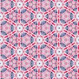 Abstract fractal geometrisch patroon stock afbeelding