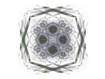 Abstract fractal with gray pattern Stock Images