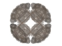 Abstract fractal with gray pattern Stock Photo