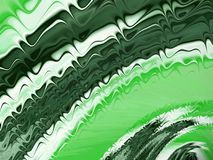 Abstract fractal green background with radial wave forms. Abstract fractal green background with radial effect wave forms Royalty Free Stock Photos