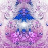 Abstract fractal heart. Digital artwork for creative graphic design Stock Photography