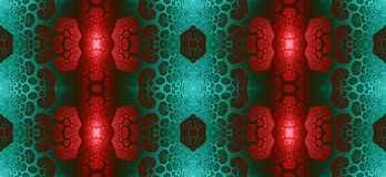 Abstract fractal high resolution seamless pattern for carpets, tapestries, fabric, and wallpapers in shining colors Royalty Free Stock Photos