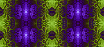 Abstract fractal high resolution seamless pattern for carpets, tapestries, fabric, and wallpapers in shining colors Stock Photos
