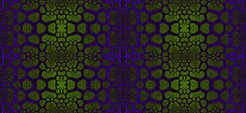 Abstract fractal hoge resolutie naadloos patroon voor tapijten, tapijtwerk, stof royalty-vrije illustratie