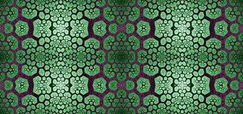 Abstract fractal hoge resolutie naadloos patroon voor tapijten, tapijtwerk, stof, en behang in het glanzen kleuren Royalty-vrije Stock Fotografie