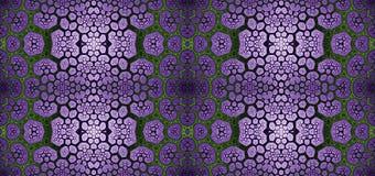 Abstract fractal hoge resolutie naadloos patroon voor tapijten, tapijtwerk, stof, en behang in het glanzen kleuren stock illustratie