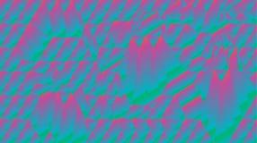 Abstract fractal holografisch bergbehang Stock Afbeeldingen