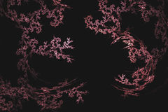 Abstract fractal illustrated background rendered wallpaper Royalty Free Stock Photos