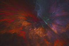 Abstract fractal illustrated background rendered wallpaper Stock Photos
