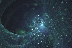 Abstract fractal illustrated background rendered wallpaper Stock Photography