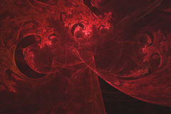 Abstract fractal illustrated background rendered wallpaper Stock Photo