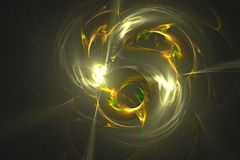 Abstract fractal illustrated background rendered wallpaper Stock Images