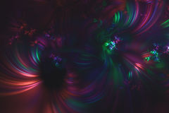 Abstract fractal illustrated background rendered wallpaper Royalty Free Stock Photography