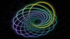 Abstract fractal illustration for creative design Stock Image