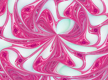Abstract fractal illustration for creative design Royalty Free Stock Images