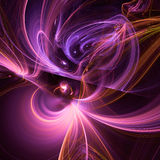 Abstract fractal illustration for creative design Stock Photography