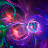 Abstract fractal illustration for creative design Royalty Free Stock Photos