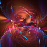 Abstract fractal illustration for creative design Stock Images