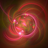 Abstract fractal illustration for creative design Royalty Free Stock Image