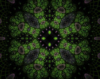 Abstract fractal image Stock Photography