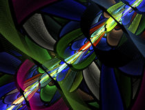 Abstract fractal image Royalty Free Stock Photos