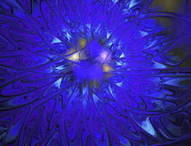 Abstract fractal image Stock Image