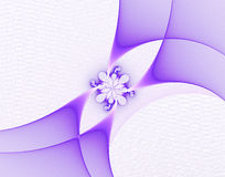 Abstract fractal image. On the white background Stock Images